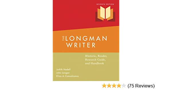 Amazon Com The Longman Writer Rhetoric Reader Research Guide And