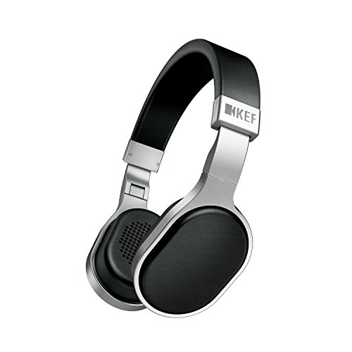 KEF M500 Hi-Fi On-Ear Headphones - Aluminum/Black by KEF