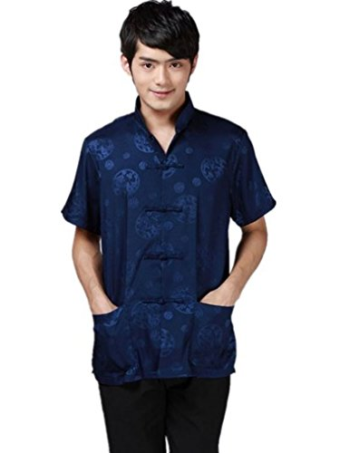 shanghai-story-short-sleeve-tang-suit-kung-fu-shirt-chinese-shirt-m-blue