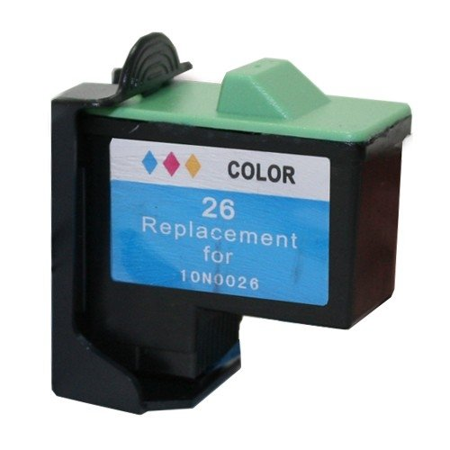 7, 26, 27 Lexmark Compatible Inkjet Cartridge, Multi Color R10N0026 (5 Inkjet Cartridges) (10n0227 Ink)