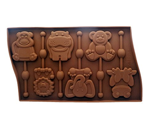 Cavity Lollipop Silicone Chocolate Elephant product image