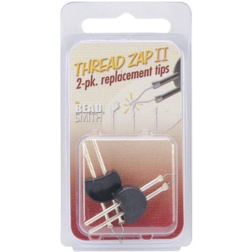 (Beadsmith Thread Zap II Replacement Tip for TZ1300, 2-Pack)
