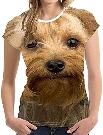 NPRADLA T Shirt Unisexe Marrant 3D Impression Animal Top Blouse /ÉT/é Court Manche T-Shirts Haut Chemisier