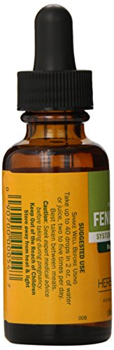 Herb Pharm Certified Organic Fenugreek Extract for Female Reproductive Support - 1 Ounce