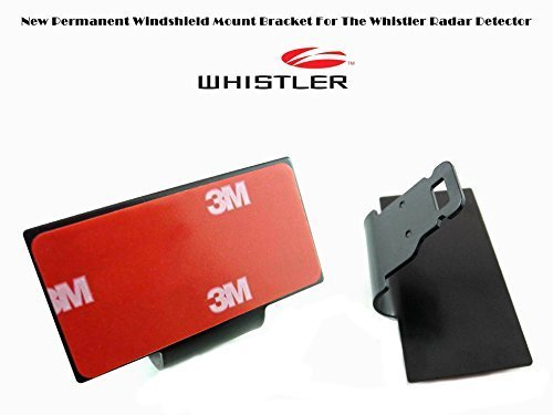 NEW WHISTLER Radar Detector Permanent Windshield Mount Bracket Good For The Recent Model Review