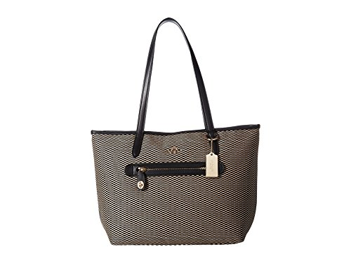 COACH Exploded Rep Taylor Tote Milk/Black One Size