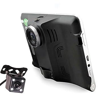 Transmisor FM LighterDaily® coche de 7 pulgadas GPS Navigation Quad Core Android Tablet GPS DVR ...