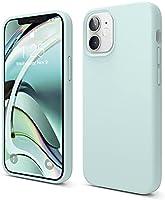 """elago Liquid Silicone Case iPhone 12 Mini Hoesje Siliconen Compatibel met iPhone 12 Mini Beschermhoes (5,4"""") - Vloeibaar..."""