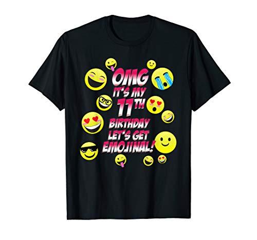 OMG It's My 11th Happy Birthday | 11 year old Boy Girl Shirt
