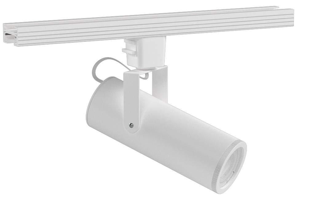 WAC Lighting J-2020-930-WT LED2020 Silo X20 Beamshift Head in White for J or J2 Track, 20 Watts,
