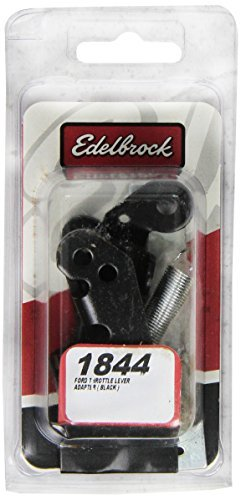 Edelbrock 1844 Ford Throttle Lever Adapter - Black, Model: 1844, Car & Vehicle Accessories / Parts -