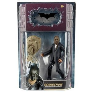 (Batman Dark Knight Movie Master Exclusive Deluxe Action Figure Scarecrow with Cloth)
