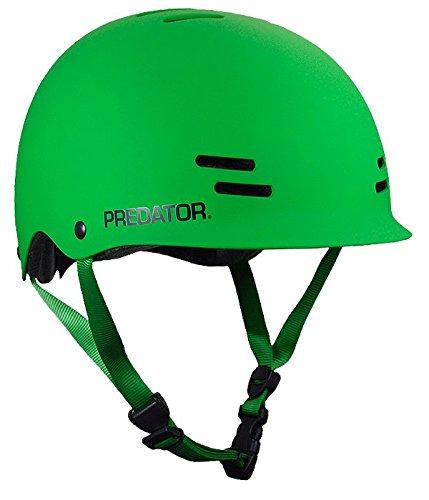 Predator FR7 Certified Skateboard Helmet Matte Green Size M/l
