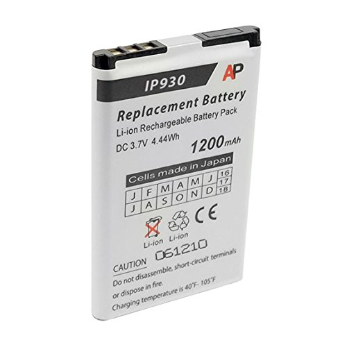 Replacement Battery for the Shoretel IP930D Phone. 1200 mAh