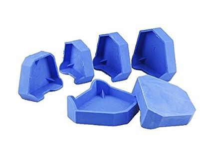 Earlywish 12pcs modelo de laboratorio dental modelos de moldes anteriores con muescas: Amazon.es: Industria, empresas y ciencia