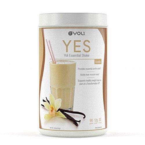 Yoli YES Protein Shake Canister (Vanilla) by Yoli LLC by Yoli