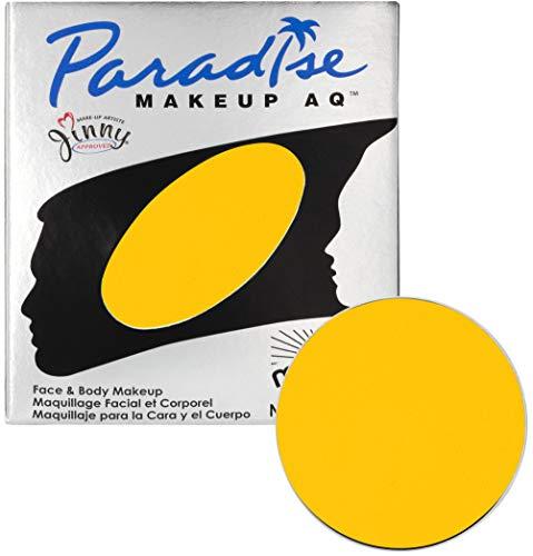 Mehron Makeup Paradise Makeup AQ Refill (.25 oz) (Yellow) ()