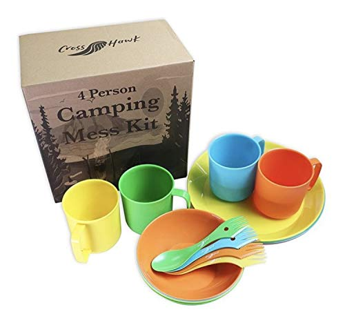 CrossHawk Camping Mess Kit
