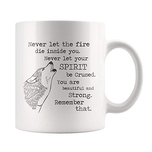 (Wolf Mug, Ceramic coffee mug for wolf lovers, Wolf Tea mug, coffee cup, Wolf Tea Cup, Birthday Gift, 11oz Ceramic Coffee Novelty Mug/Cup, Gift-wrap Available)