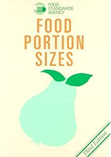 Food Portion Sizes Maff Handbook By Agriculturefish Foodmin