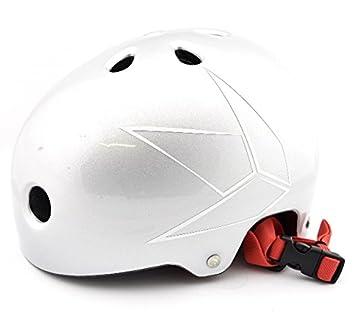 Alk13 Helium Blunt Patinete de casco s/m, plata: Amazon.es ...
