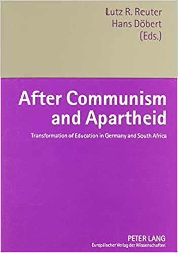 Book After Communism and Apartheid: Transformation of Education in Germany and South Africa