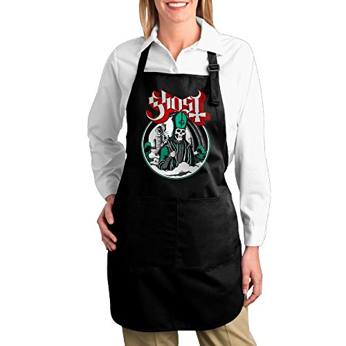Valenti47 Popestar-Ghost B.C. Fashion Canvas Apron With (The Hunger Games Cast In Costume)