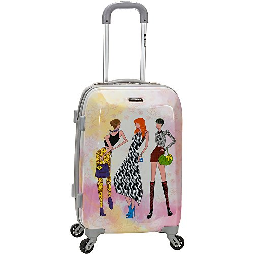 - Rockland 20 Inch Polycarbonate Carry On, Fashion