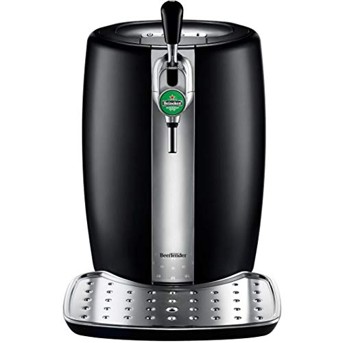 KRUPS and HEINEKEN B100 BeerTender with Heineken Draught Keg Technology,Black