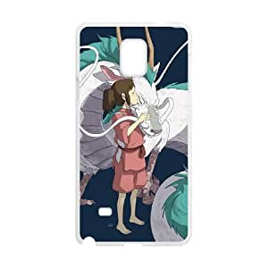 Spirited away Samsung Galaxy Note 4 Cell Phone Case White JR5249328