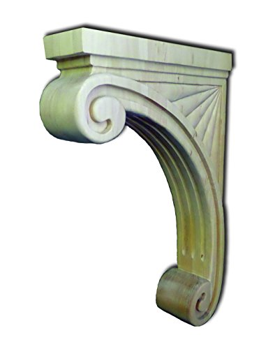 FLUTED COUNTERTOP SUPPORT