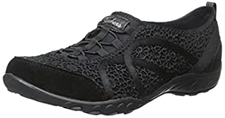 Skechers Sport Women's Breathe Easy Fortune Fashion Sneaker,Black Meadows,7.5 M US (B0113OQOII) | Amazon price tracker / tracking, Amazon price history charts, Amazon price watches, Amazon price drop alerts