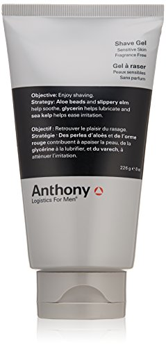 Anthony Logistics for Men Gel à raser, 8 fl. oz