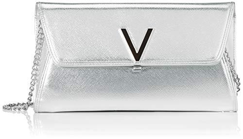 Valentino by Mario Valentino Clutch, Silver