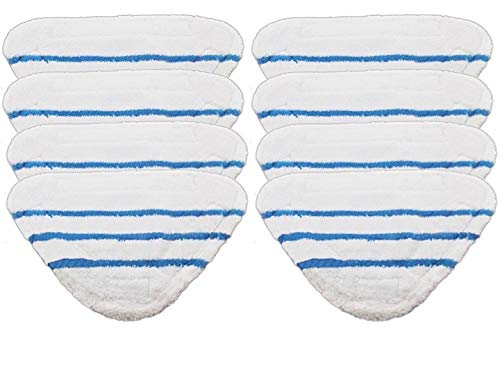 2 Pack Shark Steam Pocket S3502 Coral Mop Cloth Compatible Pads