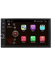 Universele Android 10 navigatie 7 inch 2 Din Radio Ondersteuning WiFi Bluetooth Spiegel Link RDS Stuurbesturing DAB + achteruitrijcamera TPMS OBD2 TV-In DVR