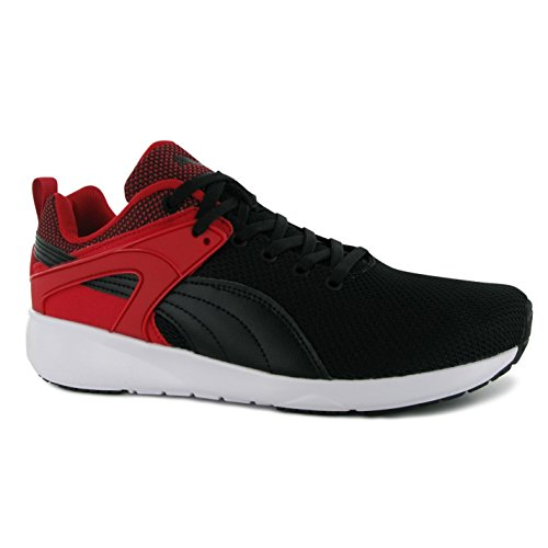 Puma Aril Blaze Training Shoes Mens Black/Red Sports Fitness Trainers Sneakers (UK11) (EU46) (US12)