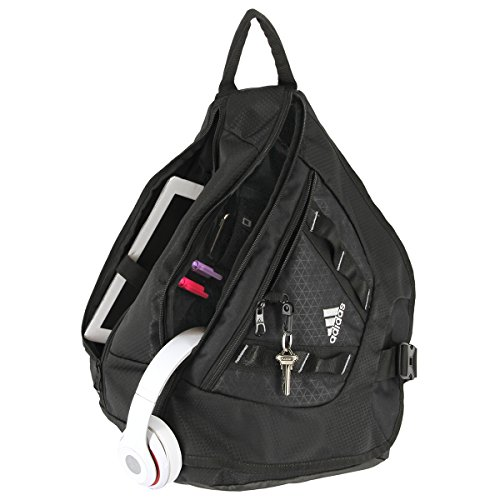 adidas Capital Sling Backpack Black e97d8b32ad9a5