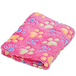 Homedeco Pet Dog Blanket Puppy Blanket Fleece Fabric Super Soft and Cute for Car,Couch,Bed & Soft Small Dog and Cat Blankets (2315 inch, C2)