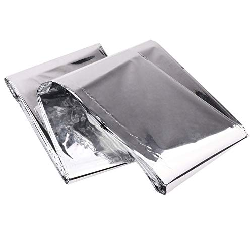 Efanr Silver Reflective Mylar Film, 82 x 47 inch Two-Sided Reflective Covering Foil Sheets for Greenhouse Fruit Trees Increasing Temperature Light by Efanr (Image #2)