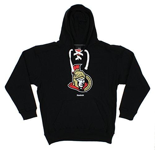 Reebok NHL Men's Primary Jersey Pullover Hoodie, Ottawa Senators
