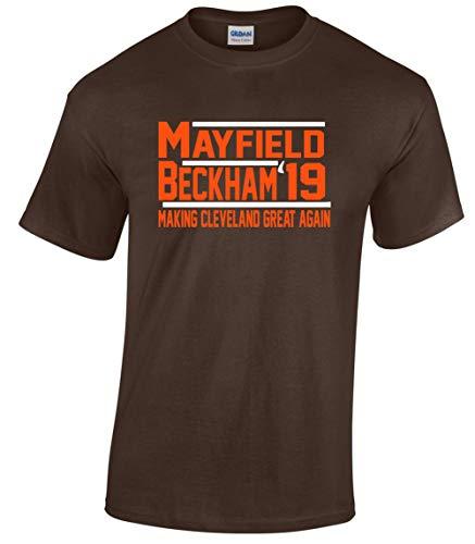 Brown Mayfield Beckham Jr 19 T-Shirt Toddler