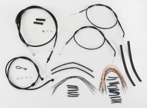 (BURLY B30-1004 Cable/Brake Line Kit for 14