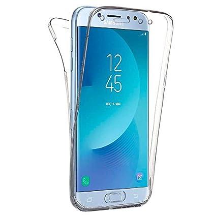 d13798bf6ef Generica - Funda TPU Doble Frontal Trasera 360 para Samsung Galaxy J5 2017