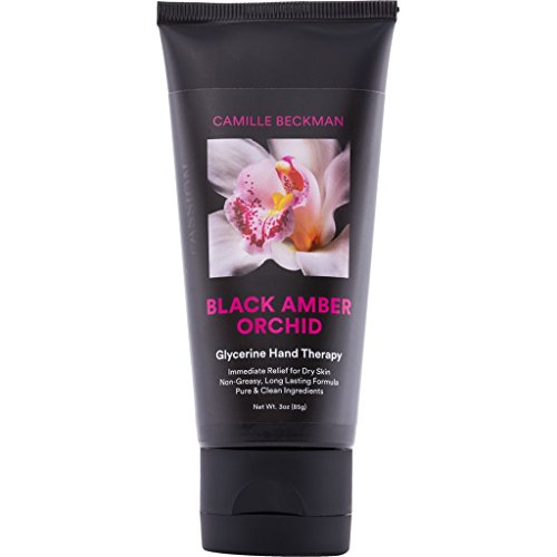 (Camille Beckman Glycerine Hand Therapy Cream, Black Amber Orchid, 3 Ounce)