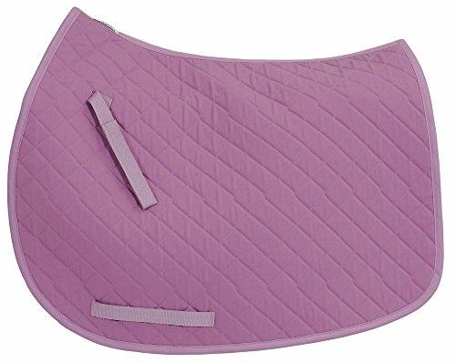 TuffRider Basic All Purpose Saddle Pad Lilac