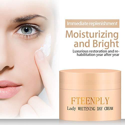 FTEENPLY Whitening Cream - Concealer Bright Skin Rejuvenation Whitening Day Cream. 1 Oz