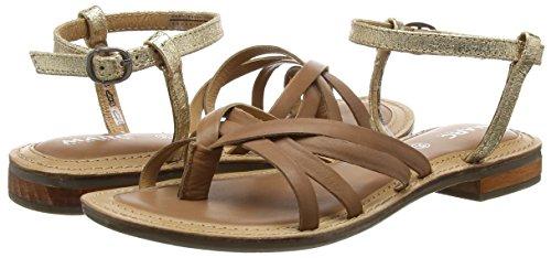 Marc Shoes De Sandalias Dedo Marrón setter 374 combi Mujer Mimi Braun q4qUFTwB