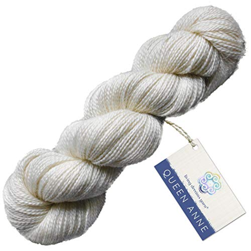 Living Dreams Queen Anne LACE Yarn. Luxuriously Soft for sale  Delivered anywhere in USA