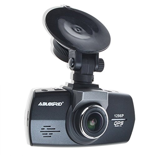 ABLEGRID® AG100 Super Night Vision G-sensor HDR 1080P 2.7   Full HD Dash Cam with GPS + Packing Monitor (Micro SD Card is not included)